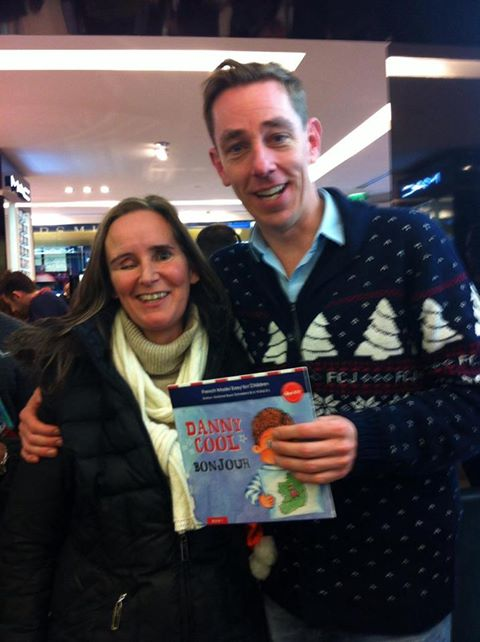 Grainne and Danny Cool with Ryan Tubridy